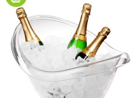Stor champagne køler
