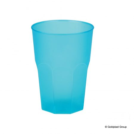 Festival drinkglas blå 40 cl