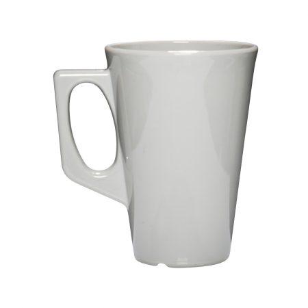 Kaffekrus med hank grå