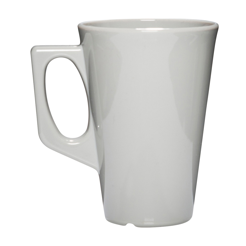 Oprindeligt Kaffekrus med hank grå 34 cl - 100% brudsikkert krus CN74