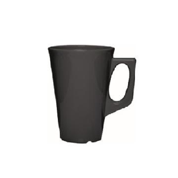 kaffekrus med hank mørkegrå