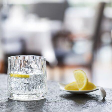 Koziol Club No. 2 drinksglas 250 ml Brudsikkert plastik
