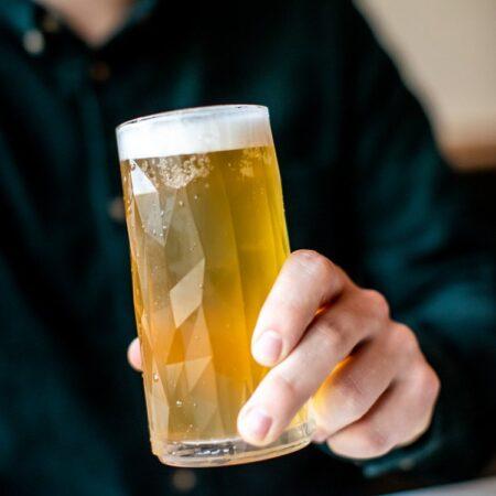 Koziol Club No. 8 ølglas 300 ml Brudsikkert plastik