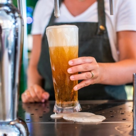 Koziol Club No.11 ølglas 500 ml Brudsikkert plastik
