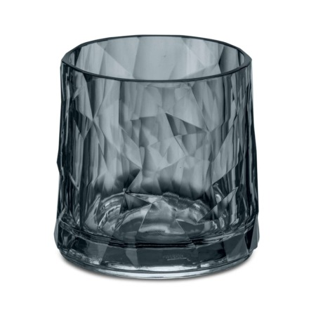 Koziol Club No. 2 drinksglas 250 ml Brudsikkert plastik - Transparent Grey